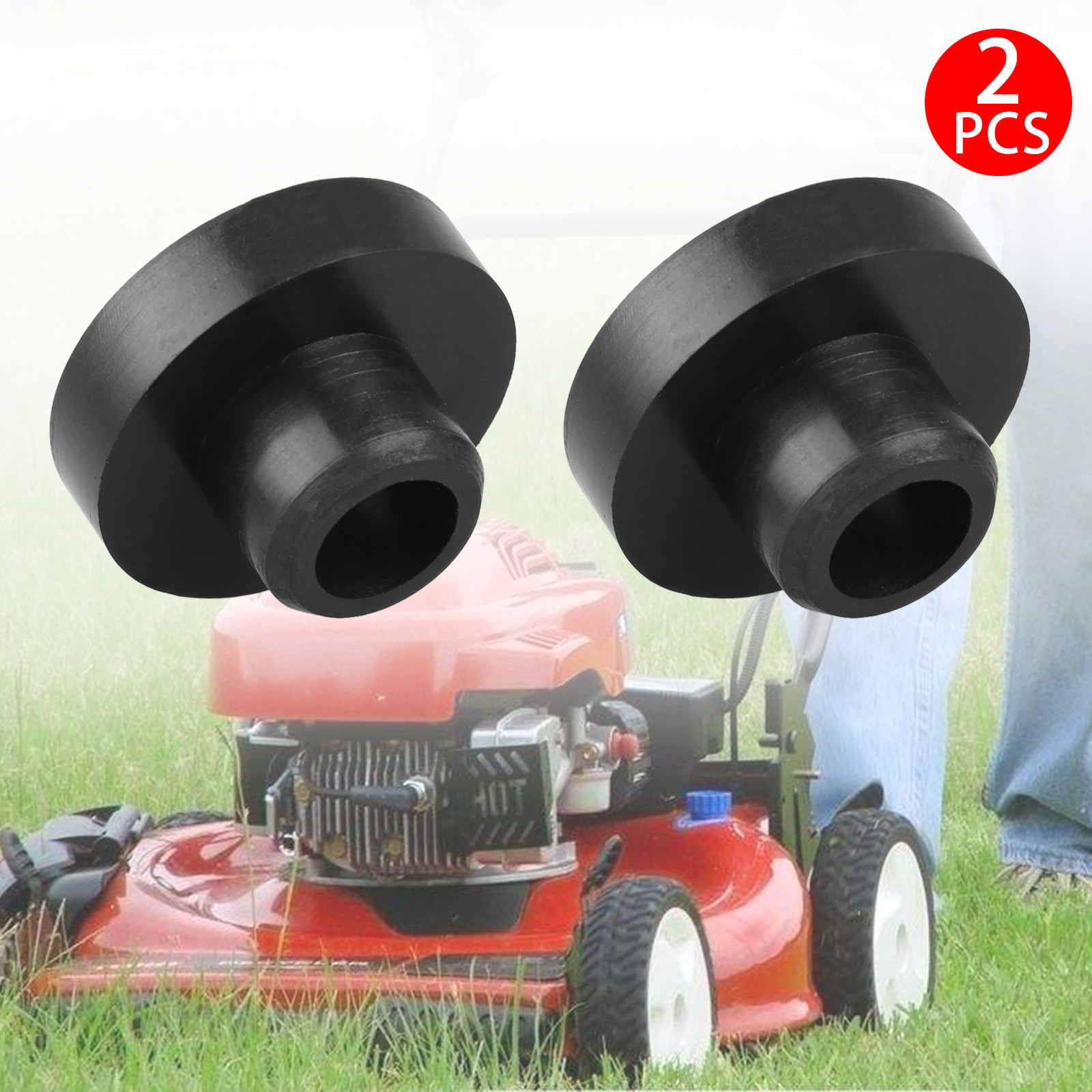 2pcs Universal Gas Fuel Tank Grommet Bushings For Tractor