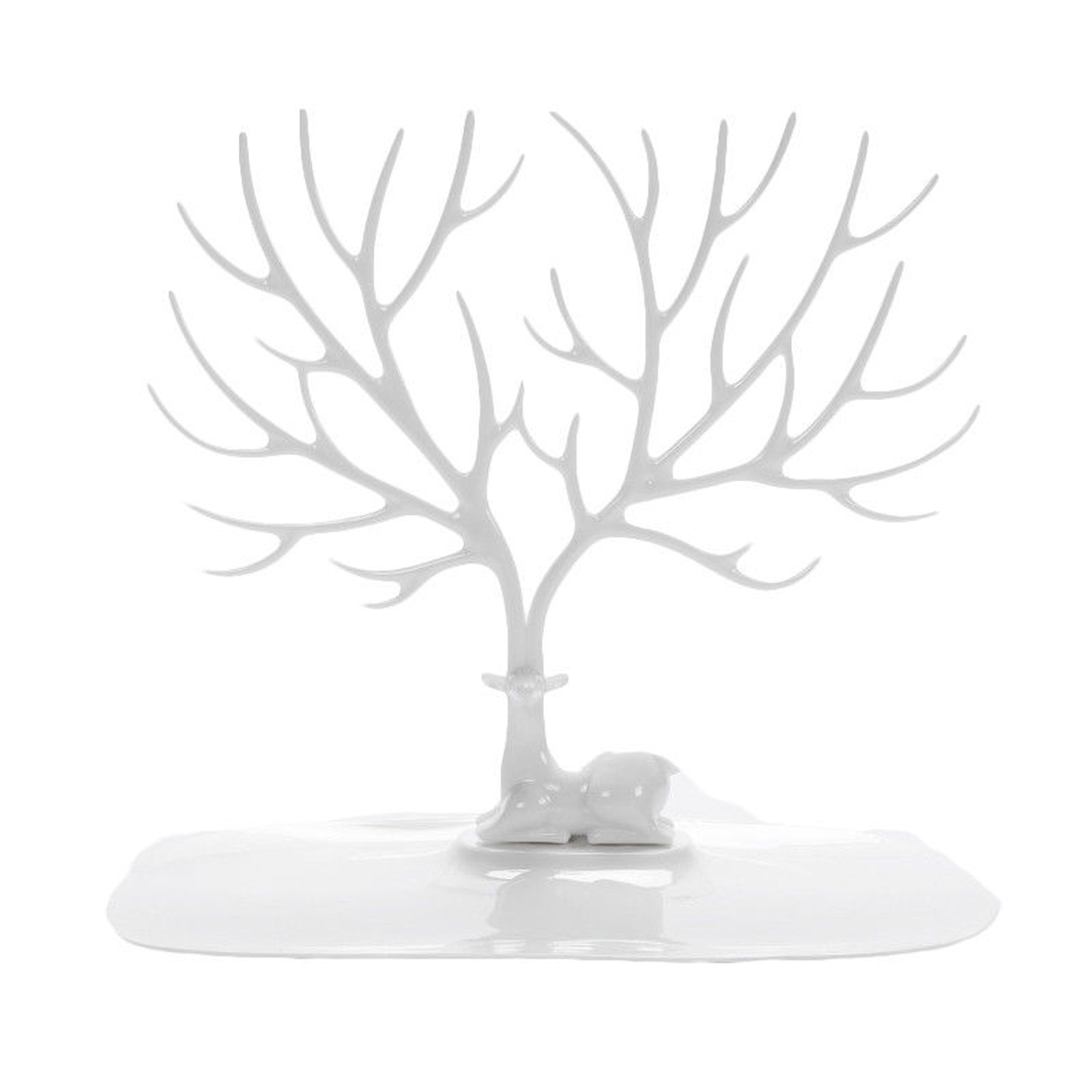 Jewelry Deer Tree Stand Display Organizer Necklace Ring