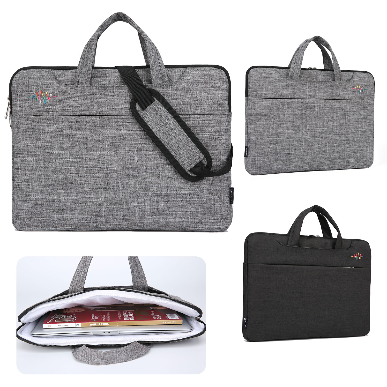Laptop Notebook Sleeve Case Bag Cover 14'' 15.6'' Macbook Pr