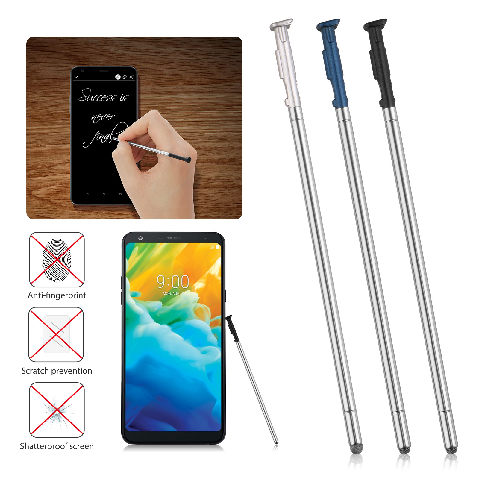 Touch Stylus Pen Replacement Free For LG Stylo 4 Q Stylus Q710 Q710MS L713DL W