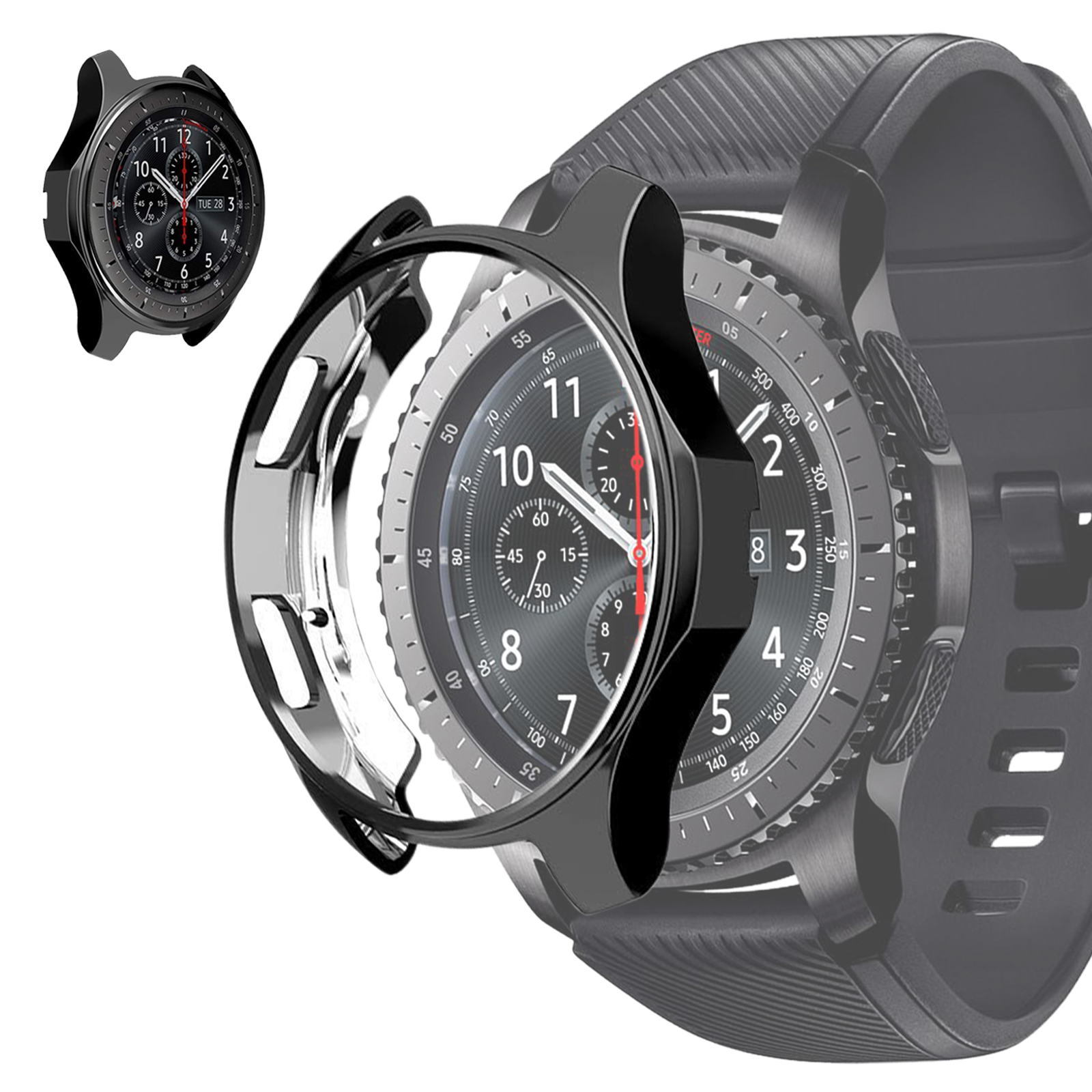 Soft-TPU-Slim-Smart-Watch-Case-Cover-For-Samsung-Gear-S3-Frontier-Galaxy-46mm thumbnail 10
