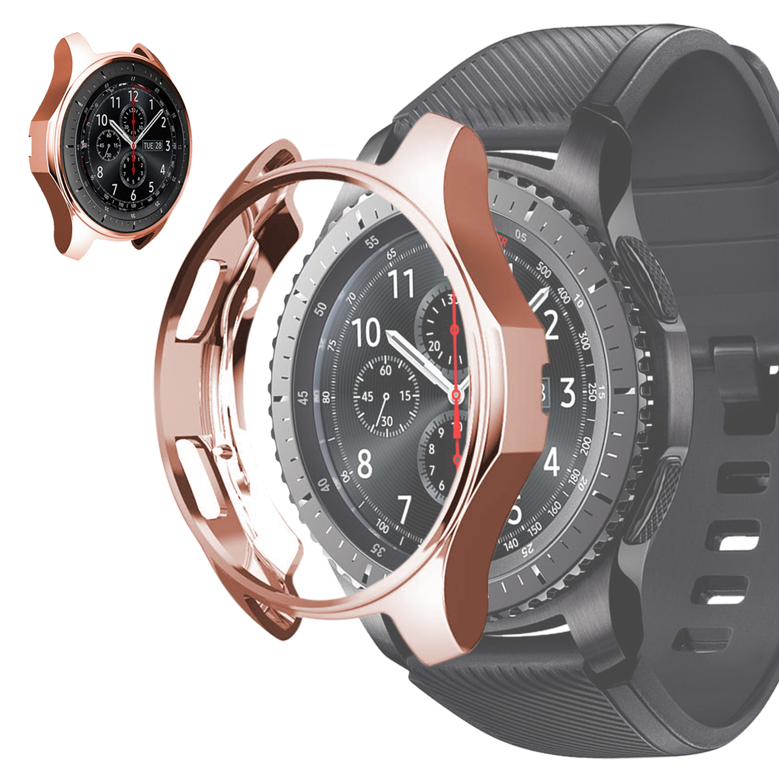 Soft-TPU-Slim-Smart-Watch-Case-Cover-For-Samsung-Gear-S3-Frontier-Galaxy-46mm thumbnail 12