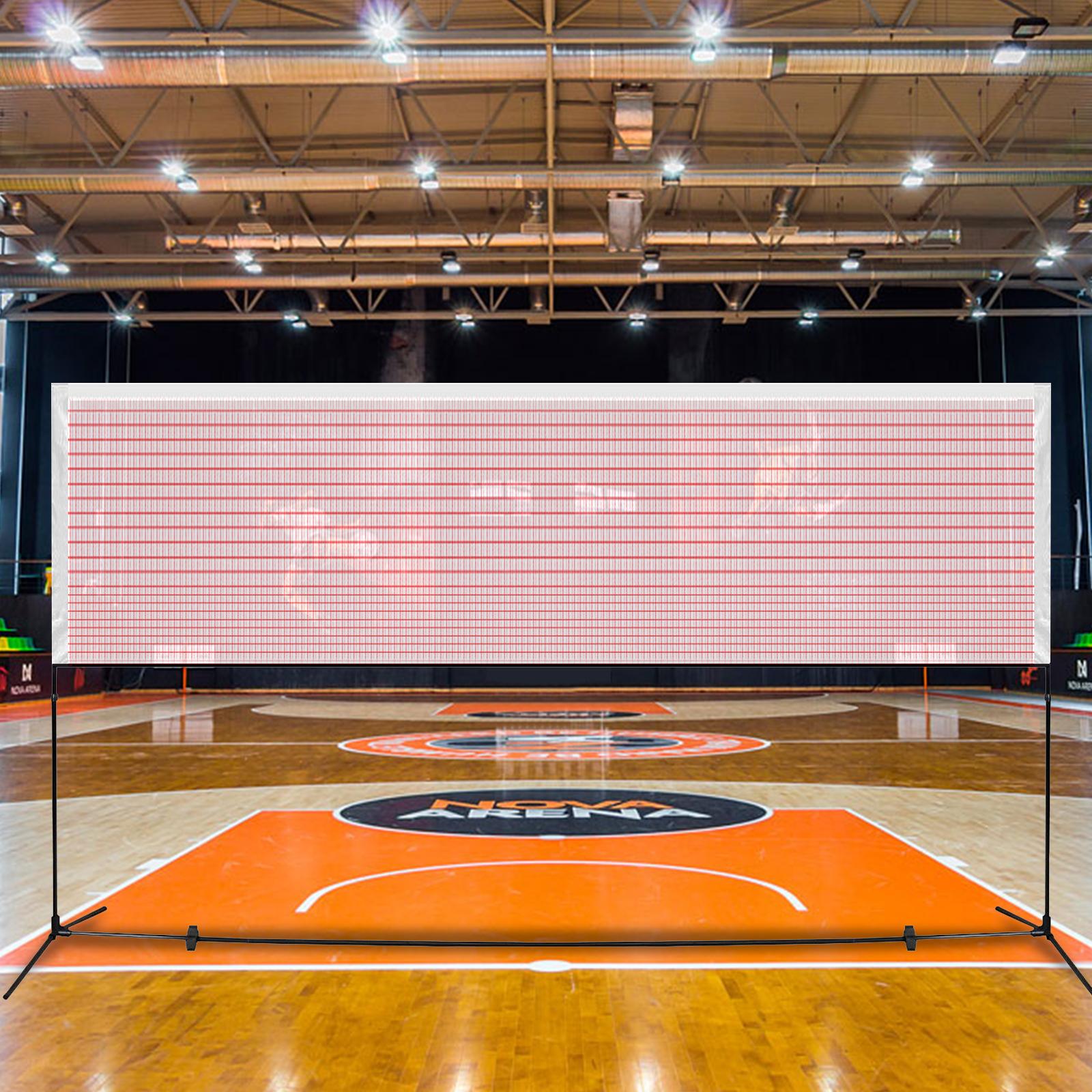 Red-Badminton-Tennis-Volleyball-Net-For-Beach-Garden-Indoor-Outdoor-Games-Sport