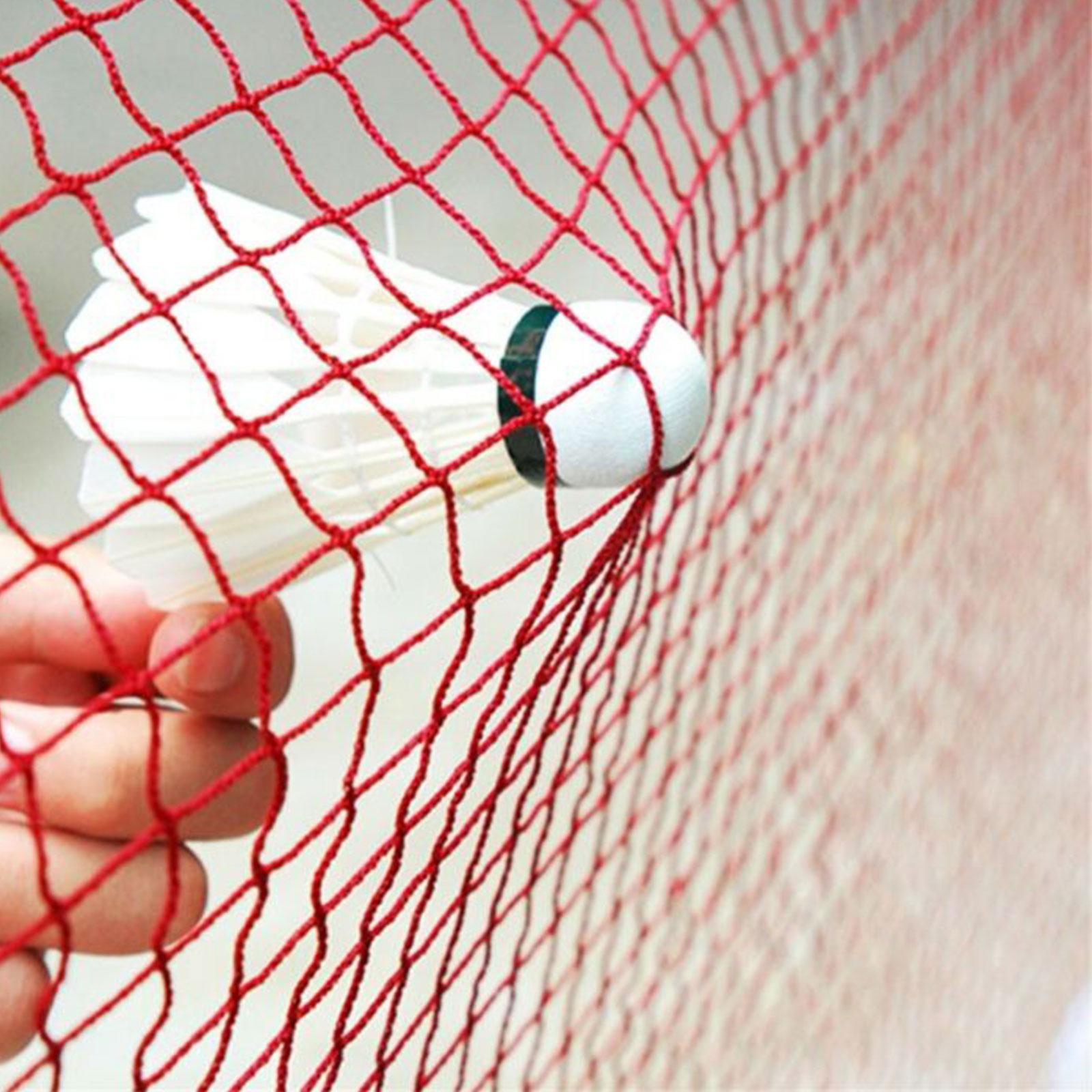 Red-Badminton-Tennis-Volleyball-Net-For-Beach-Garden-Indoor-Outdoor-Games-Sport thumbnail 11