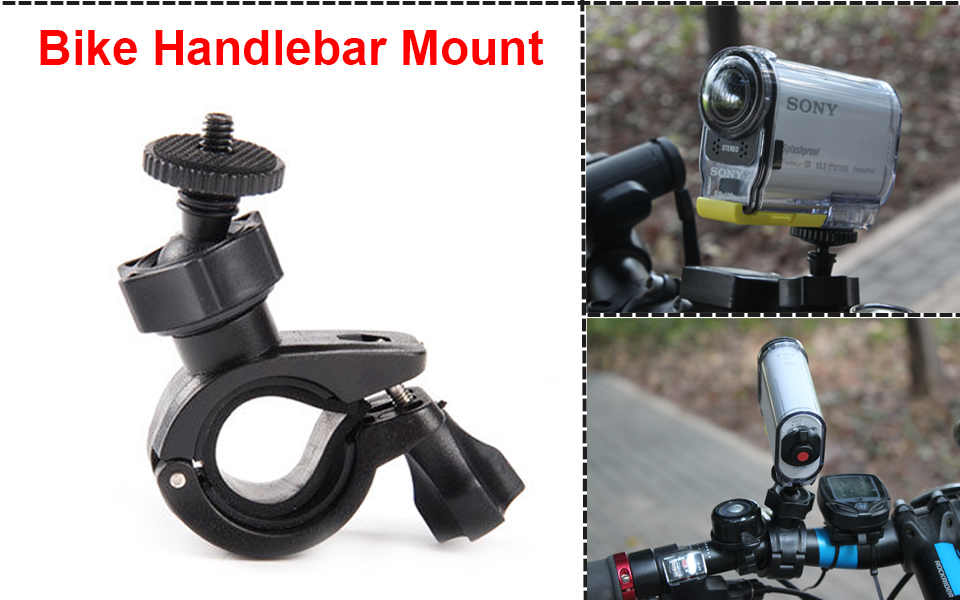 Monopod Helmet Suction Cup Holder Mount Bike Kit Accessories For